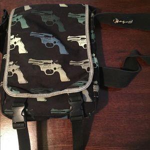 Andy Warhol Cross-Body Guns Bag